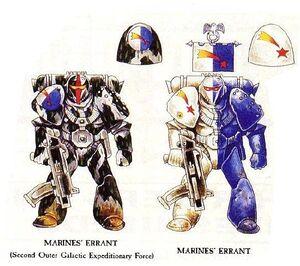Marines Errantes Esquemas originales