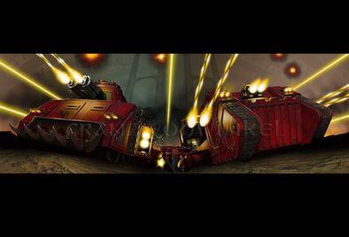 Tanques angeles sangrientos
