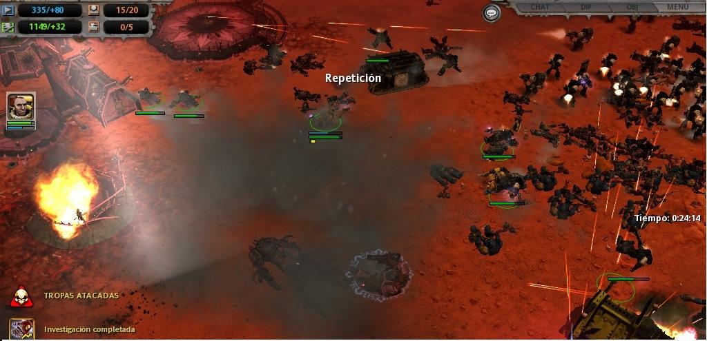 75 Los impetuosos Templarios Negros son alcanzados por el bombardeo aliado.