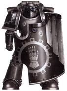 Maeloc Marine Rompedor Legión Manos de Hierro Istvaan V