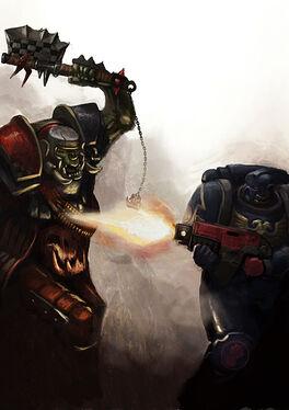 Puño Carmesi contra Orko Wikihammer