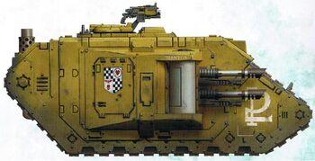 Thantos Land Raider Phobos modelo Mk II-b Lamentadores