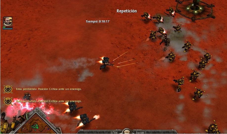 14 Tras retirarse, los Leales son emboscados.
