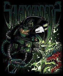 Marine salamandra fanart