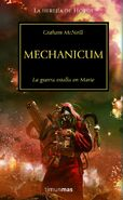 Portada Mechanicum Herejía de Horus