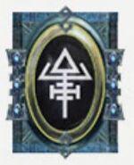 Simbolo eldar tejedor nocturno night spinner