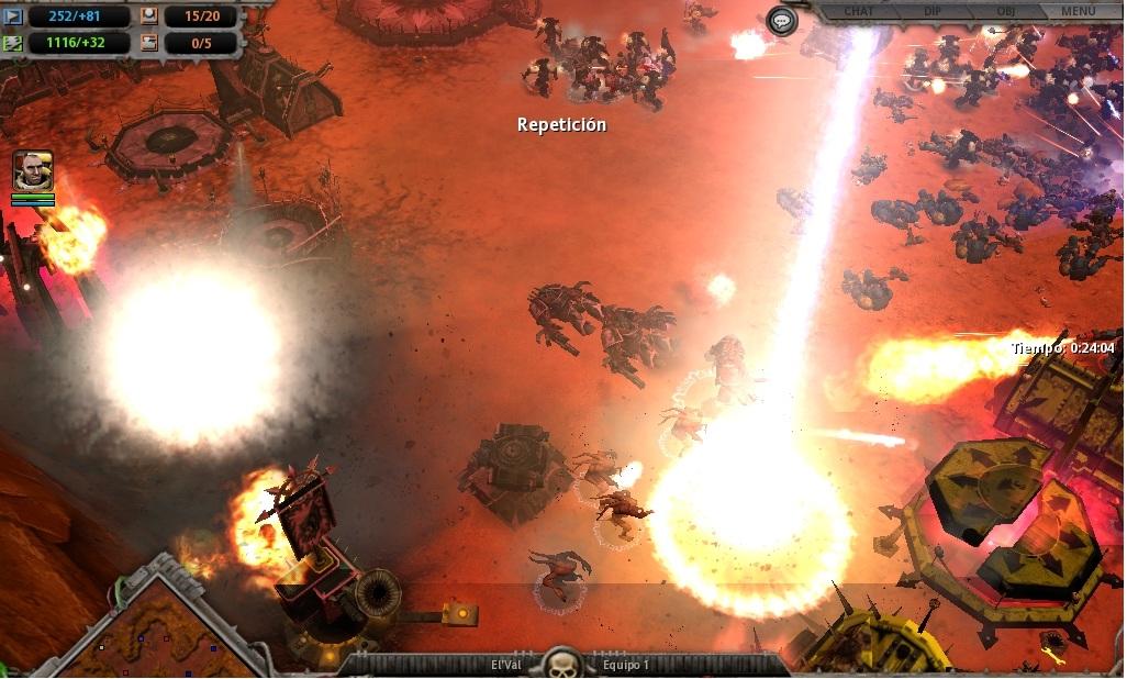 73 Un bombardeo orbital sacude a los traidores.