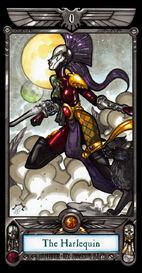 Arlequin del Tarot Imperial