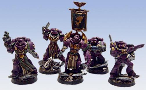 Escuadra Táctica Hijos Emperador Herejía warhammer 40k wikihammer