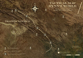Rynn mapa gorge Wikihammer 40k