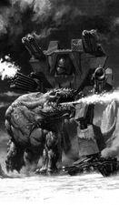 Titan warlord vs bestia mhoxen cel