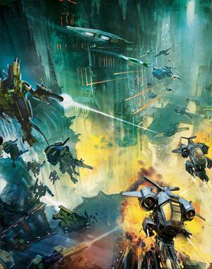 Batalla cruzada Damocles wikihammer