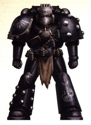Escudo Negro Hermandad Oscura