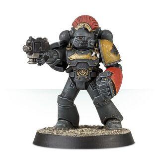 Veterano Táctico Legión Lobos Espaciales Mk IV Maximus puño de combate