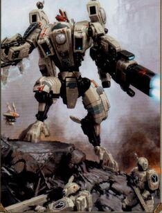 XV104 Cataclismo Tau Armadura Warhammer 40k Wikihammer