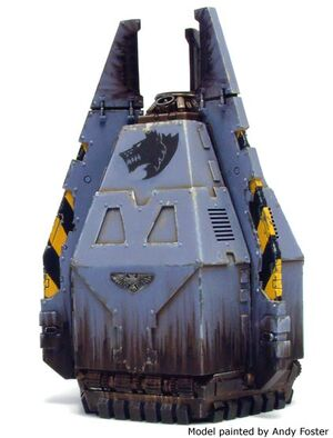 Capsula desembarco lobos espaciales