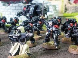 Escuadra Táctica Dreadnought Ángeles Oscuros Herejía