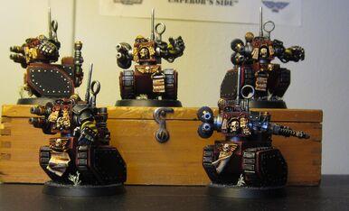 Legio cibernetica manipulo de robots