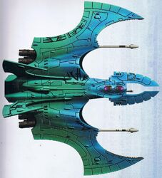 Eldar aeronave cazador vampiro mymeara