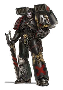 Marine asalto guardia del cuervo wikihammer