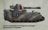 Guardia Imperial tanque superpesado baneblade armageddon
