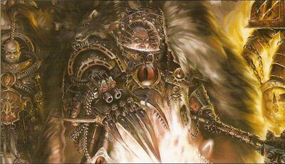 Horus Señor de la Guerra durante la Herejía