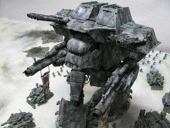 Miniatura Apocalypse Titan Warlord wikihammer