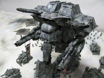 24764 md-Apocalypse Titan Warhammer 40000 Warlord