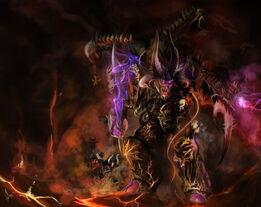 Daemon prince of slaanesh by slaanesh goddess-d719p6n