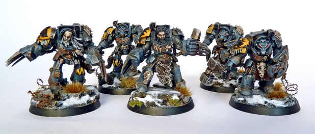 Exterminadores Guardia del Lobo miniaturas