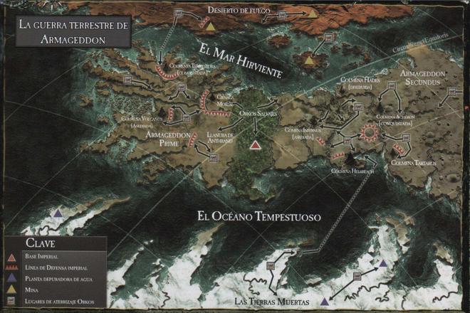 Mapa 3ª Guerra por Armageddon