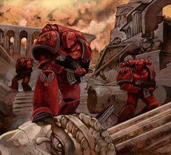 Marines angeles sangrientos preherejia ruinas