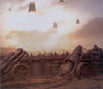 Artillería de Campo Vraks Krieg Guardia Imperial FW diorama