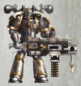 Caos guerrero de hierro paradus mawl