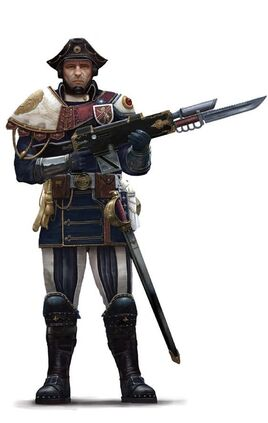 Guardia Imperial fusilero scintilla wikihammer