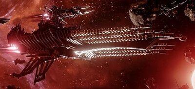 Caos flota revienta planetas abaddon