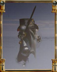 No oficial espada venganza