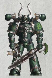 Caos legion alfa marine noacus