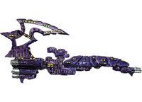 Crucero clase Tortura Drukhari Battlefleet Gothic miniatura