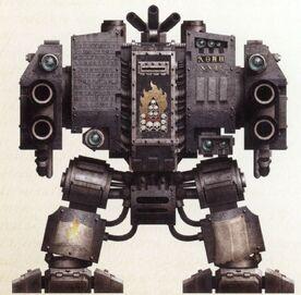 Dreadnought Mortis Ishelun Capítulo Trono de Huesos Portadores de la Palabra