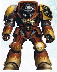 Exterminador de los Halcones Llameantes