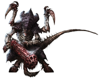 Tiranido guerrero flota leviathan