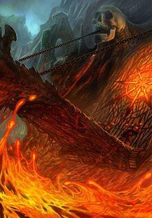 Caos mundo demoniaco fortaleza