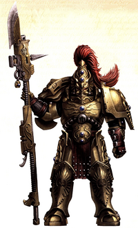 Guardia Custodio Legio Custodes FW ilustración