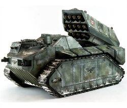 Mini Lanzamisiles blindado tipo Pretoriano de la Guardia Imperial