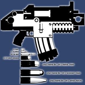 Bolter&ammo