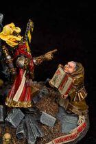 Miniatura el redentor y su diácono2