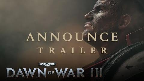 Dawn of War III – Announcement Trailer - SPA