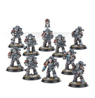 Escuadra Táctica Veterana Ferrum Lobos Espaciales Burning of Prospero miniaturas