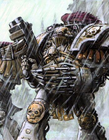Escuadra de Exterminadores Gurtur Fol Guardia de la Muerte Istvaan III